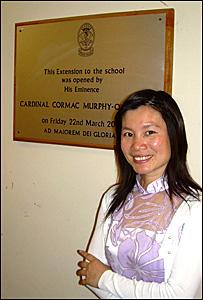 Mandarin teacher Lily Chen