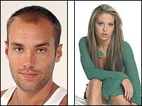 Calum Best and Bianca Gascoigne