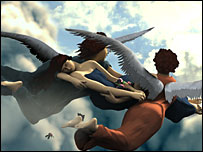 Screen shot from Left Behind: Eternal Forces (Courtesy of Left Behind Games)