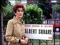 Dot Cotton played by June Brown