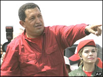 Hugo Ch�vez aspira la reelecci�n presidencial en Venezuela.