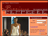 Precious website