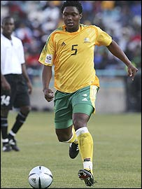 Former South Africa captain Mbulelo Mabizela