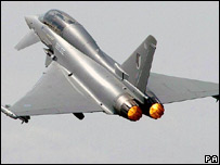 Eurofighter Typhoon jet