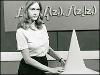 Still from an Open University programme