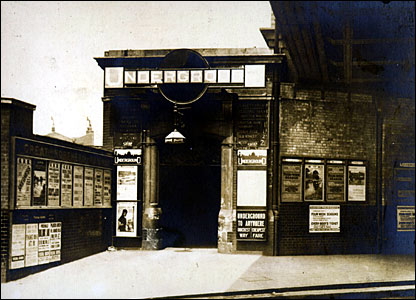 Finsbury Park station in 1926