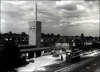 Osterley station in 1948