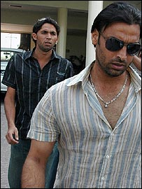 Mohammad Asif and Shoaib Akhtar