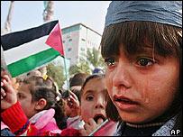 Niña palestina.