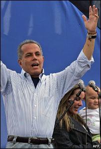 Manuel Rosales, candidato presidencial venezolano