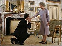 Michael Sheen and Helen Mirren in The Queen