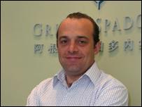 Sergio Spadone, empresario argentino radicado en China