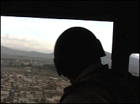 From the back of a Chinook