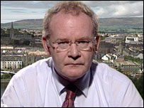 Martin McGuinness, Sinn F�in