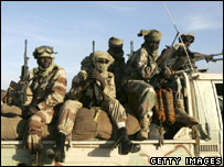 Soldiers in Chad (file picture)
