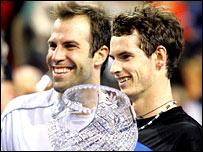 Greg Rusedski and Andy Murray