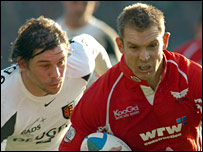 Dafydd James set Scarlets on their way with a first-half try