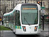 The new T3 tram