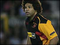 Back-row Colin Charvis claimed one of the Dragons' five tries