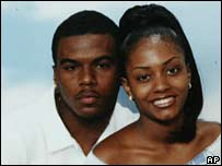 Sean Bell and his fiancee (undated photo)
