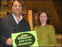 Bryn Terfel and Jill Evans MEP