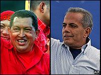 Hugo Ch�vez y Manuel Rosales