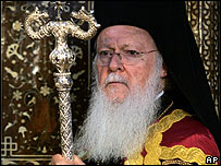 Patriarch of Constantinople, Bartholomew I