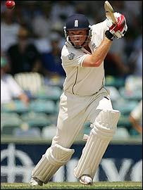 Ian Bell batting in Perth