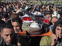 Militant funeral in Qabatiya