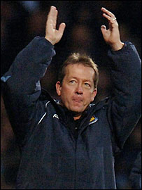 West Ham manager Alan Curbishley