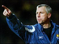 Former West Ham boss Alan Pardew