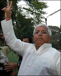 Laloo Prasad Yadav [Pix: Prashant Ravi]