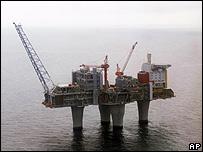 Statoil's Troll A gas platform