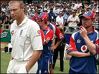 Andrew Flintoff and his team reflect on defeat in Perth