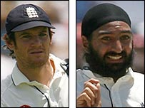 Chris Read and Monty Panesar