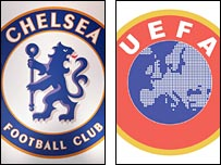 Chelsea/Uefa graphic