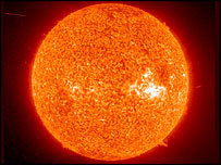 The Sun   Image: Esa/Nasa
