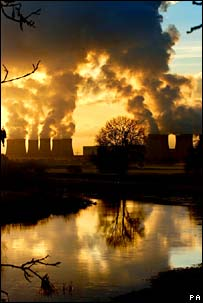 Drax power station. Image: PA