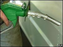 Petrol pump. Image: PA
