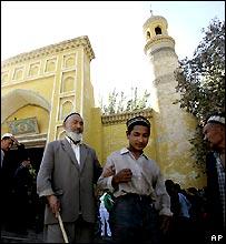 Mosque in Kashgar, Xinjiang province