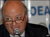 José Antonio Viera Gallo,  OEA