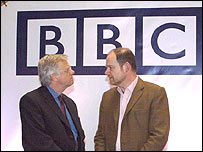 Michael Grade, left, and BBC director general Mark Thompson