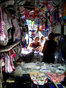 Stall in Sabana Grande, Caracas