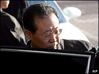 North Korean negotiator Kim Kye-gwan in Beijing on 28 November 2006
