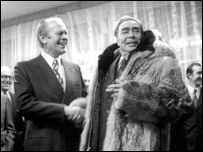Леонид Брежнев, Владивосток, 1974 год