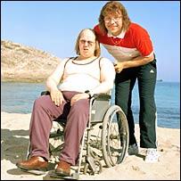 Matt Lucas and David Walliams in Little Britain