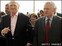 Sir Menzies Campbell and Norman Lamb