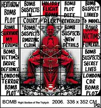 Bomb, by Gilbert and George