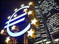 European Central Bank logo