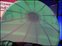 Curved immersive display, Stephen Bromberg